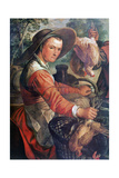 At the Market, (Detail), C1550-1537 Giclee Print by Joachim Beuckelaer