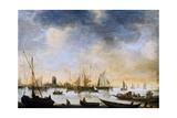 River View, 17th Century Giclée-Druck von Jan Van Goyen