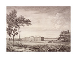 View of the London Hospital in Whitechapel Road, 1753 Giclee Print by Jean Baptiste Claude Chatelain
