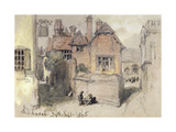 The Angel Inn, Midhurst, 1865 Giclee Print by John Gilbert