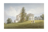 South-West View of Bromley Hill, Bromley, Kent, 1815 Giclee Print by John Buckler