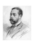 George Frederick Ernest Albert (King George), 1910 Giclee Print by John Seymour Lucas