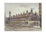 View of Old Pye Street, Westminster, London, 1883 Giclee Print by John Crowther
