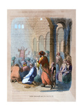 Universal Prayer for the Flooding of the Nile, Egypt, C1847 Giclee Print by Jean Adolphe Beauce