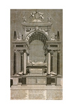 The Monument to Mary, Queen of Scots in Westminster Abbey, London, 1742 Giclee Print by James Cole