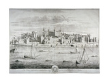 Tower of London, C1700 Giclee Print by Johannes Kip