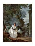 Nina, 1787 Giclee Print by Jean-François Janinet
