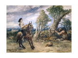 First Adventure of Gil Blas, 1892 Giclee Print by John Gilbert
