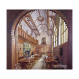 Great Hall, Charterhouse, London, 1885 Giclee Print by John Crowther