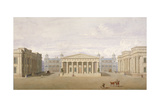 Trafalgar Square, Westminster, London, 1828 Giclee Print by John Nash