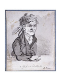 Clerk from the Guildhall's Law Courts, 1801 Giclee Print by John Nixon