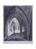 St Michael's Crypt, Aldgate, London, 1784 Giclee Print by John Carter