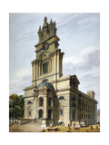 Church of St Anne, Limehouse, London, 1811 Giclee Print by John Coney
