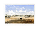 Fort Owen, Flathead Village, USA, 1856 Giclee Print by John Mix Stanley