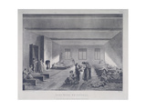 Women and Children in Bridewell's Hospital, London, 1808 Giclee Print by John Hill