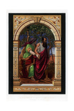 A Stained and Painted Glass Window, 19th Century Giclee Print by John Burley Waring