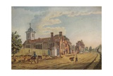 The Old Chapel, Kentish Town, (C177), 1925 Giclee Print by John Inigo Richards