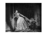 The Solen Kiss, Late 18th Century Reproduction procédé giclée par Jean-Honore Fragonard