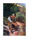 The Prospector, 1908-1909 Giclee Print by Jan Hendrik Scheltema