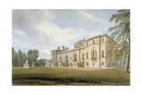 North-West View of Chiswick House, Chiswick, Hounslow, London, 1822 Giclee Print by John Chessell Buckler