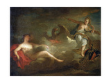 Jupiter, Juno and Io, 1710s Giclee Print by Jean-Marc Nattier