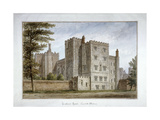 Lollard's Tower, Lambeth Palace, London, 1831 Giclee Print by John Buckler