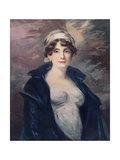 Anne, the Wife of Lieutenant Colonel Hamilton, C1805 Giclee Print by John James Masquerier
