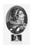Ptolemy I, Soter, King of Egypt, 1803 Giclee Print by John Chapman