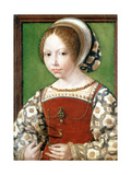 A Little Girl, C1520 Giclee Print by Jan Gossaert