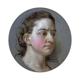 Portrait of a Woman, 18th Century Giclee Print by Jean Baptiste Van Loo