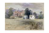 Frank's Hall Near Farningham, 1846 Giclee Print by John Gilbert