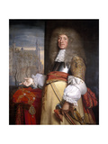 Sir John Robinson, Lord Mayor 1662 Giclee Print by John Michael Wright