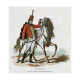 A Hussar, Early 19th Century (1882-188) Giclee Print by Jean Duplessis-bertaux