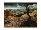 The Passion of Christ, Early 16th Century Giclee Print by Joachim Patinir