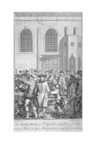 Bell Man at St Sepulchre Church, City of London, 1785 Giclee Print by James Pollard