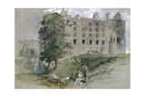 Linlithgow Castle, West Lothian, Scotland, 1845 Giclee Print by John Gilbert