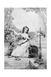The Princess Victoria at the Age of Eleven Years Giclee Print by John Hayter