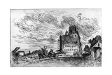 Demolition, C1840-1890 Giclee Print by Johan Barthold Jongkind