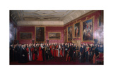 Address of Congratulations to Louis-Philippe, 1844 Giclee Print by Jean Alaux