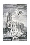 Church of St Mary Le Strand, Westminster, London, 1732 Giclee Print by James Cole