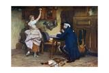 Flirtation, 1885 Giclee Print by John Seymour Lucas