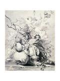 Still Life of Fruit, (1700-1749) Giclee Print by Jan van Huysum