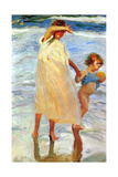 The Two Sisters, 1909 Giclee Print by Joaquin Sorolla y Bastida