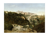Volterra, Italy, 1834 Giclee Print by Jean-Baptiste-Camille Corot