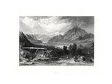 Lucerne, Central Switzerland, 19th Century Giclee Print by John Cousen