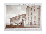 Premises Belonging to Builders Peto and Grissell in York Road, Lambeth, London, 1828 Giclee Print by John Buckler