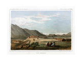 Fort Okinakane, USA, 1856 Giclee Print by John Mix Stanley