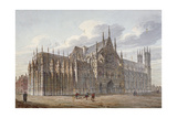 Westminster Abbey, London, 1816 Giclee Print by John Coney