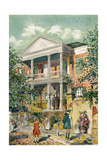 Pringle House, Charleston, South Carolina, USA, C18th Century Giclee Print by James Preston