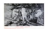Battle of Camerone, Campaign of Mexico, 1863 Giclee Print by Jean Basin